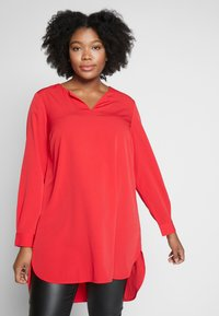 JUNAROSE - by VERO MODA - JRUNA TUNIC - Tunique - barbados cherry - 0