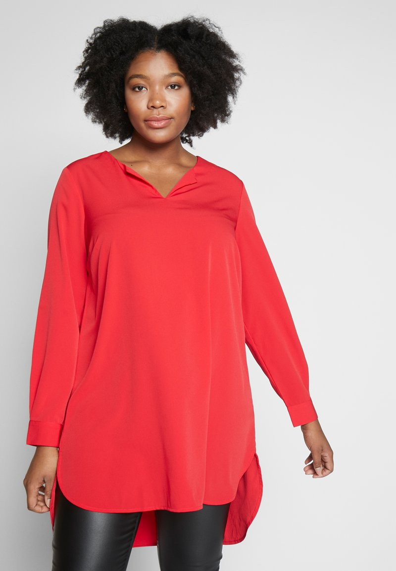 JUNAROSE - by VERO MODA - JRUNA TUNIC - Tunique - barbados cherry
