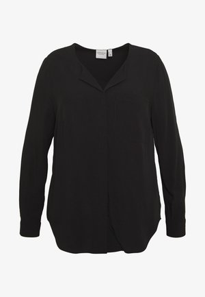 JRVERONICA SOLID SHIRT  - Blouse - black