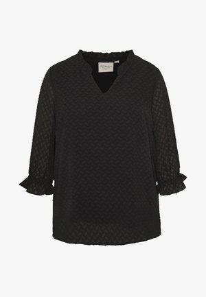 JRNIZA 3/4 SLEEVE BLOUSE - Blouse - black