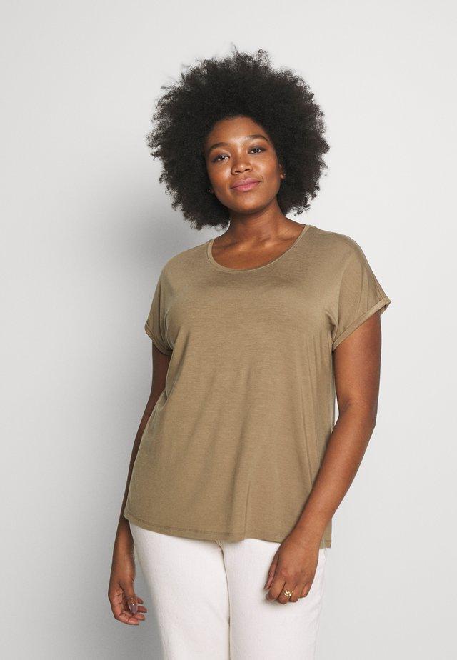 JRSOFIE O-NECK - T-shirt basique - covert green