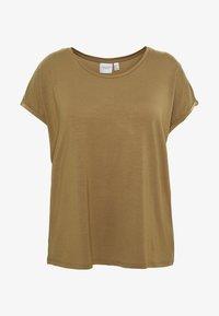 JUNAROSE - by VERO MODA - JRSOFIE O-NECK - T-shirt basique - covert green - 4