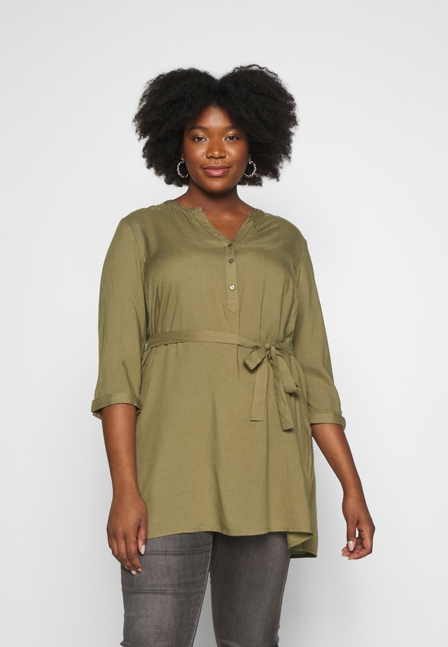 JRMERLE TUNIC - Tunika - covert green