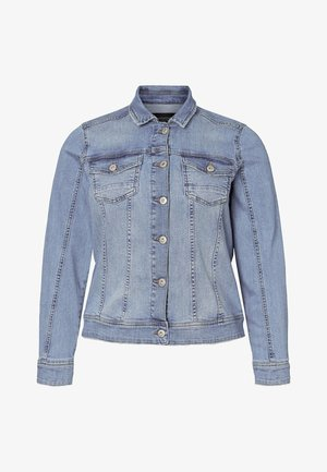 JOAN JACKET - Kurtka jeansowa - light blue denim