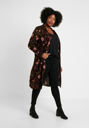 JRAVILA LONG CARDIGAN - Korte jassen - black