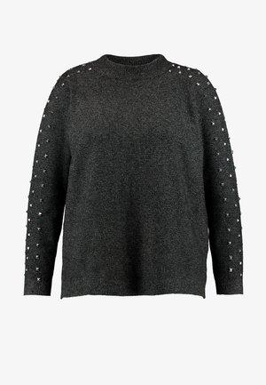 JRSAETA - Pullover - dark grey melange