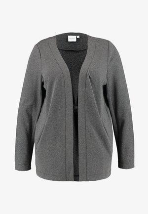 JRRACHEL SWINGOVER - Kardigan - dark grey melange