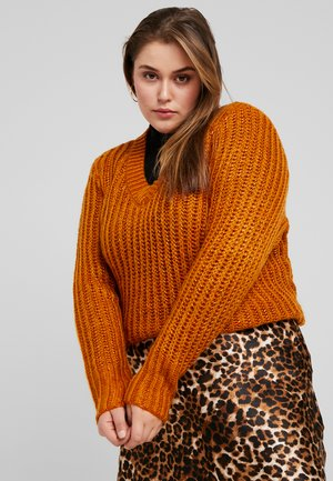 JROVIYA - Pullover - sudan brown