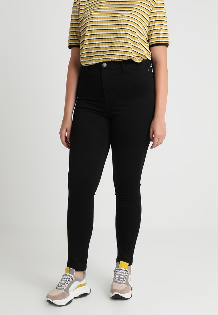 JUNAROSE - by VERO MODA - Slim fit jeans - black denim
