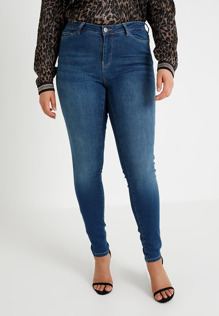 JUNAROSE - by VERO MODA - SHAPE  - Jeans Skinny Fit - medium blue denim