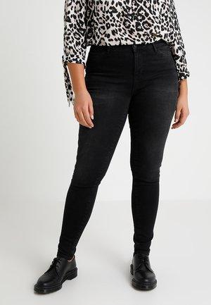 JRFIVE SHAPE - Skinny džíny - dark grey denim