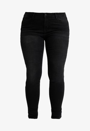 JRFIVE SHAPE - Skinny džíny - dark grey denim