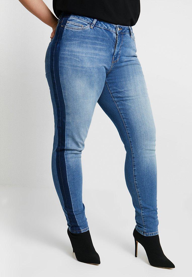 Junarose - JRFIVE JANI - Jeans Skinny Fit - medium blue denim