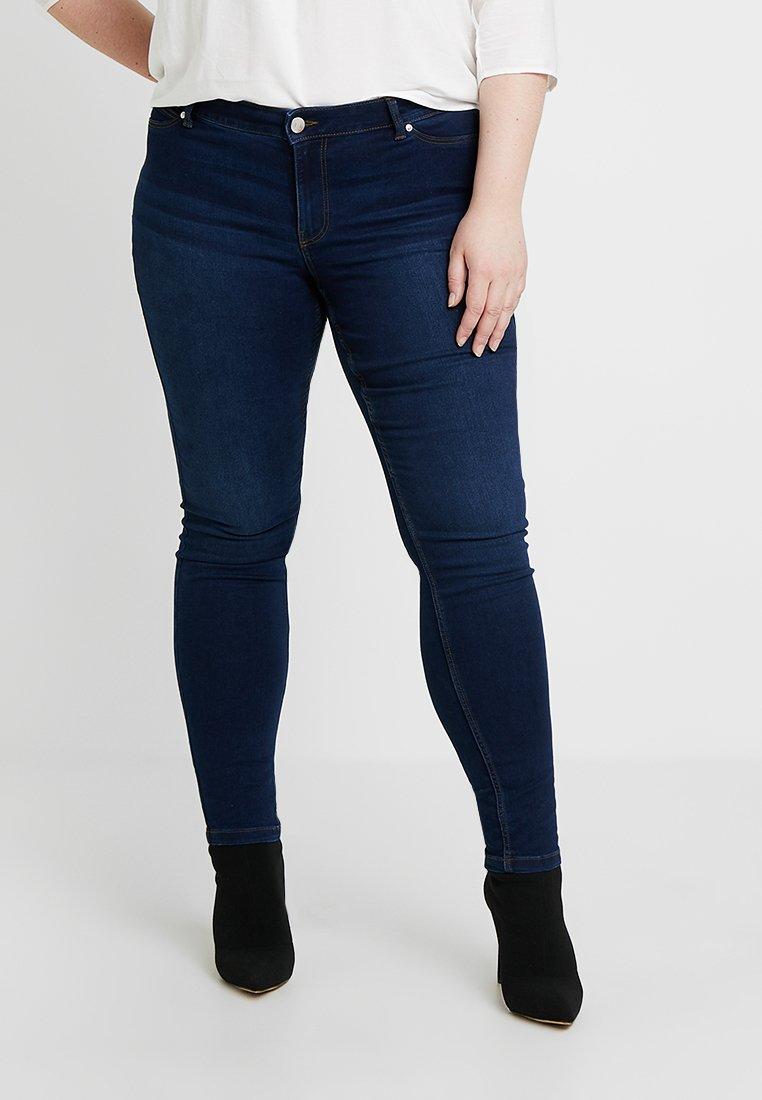 JUNAROSE - BY VERO MODA - JRFASHIONQUEEN JAIME - Jeans Skinny Fit - dark blue denim