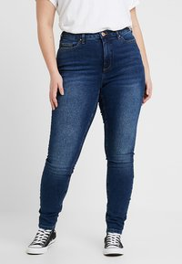 JUNAROSE - by VERO MODA - JRZERO NOVA  - Jeans Skinny Fit - medium blue denim - 0