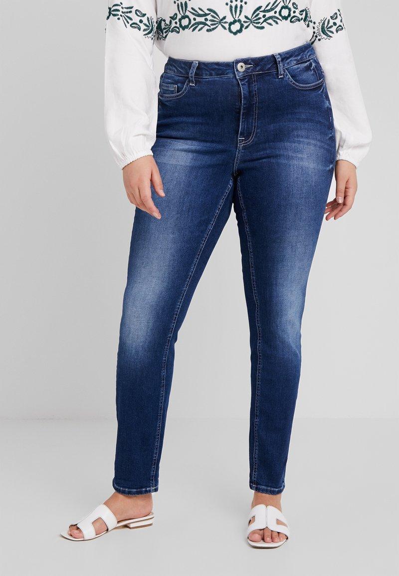 JUNAROSE - by VERO MODA - ONEJOANIE - Jeans Skinny Fit - medium blue denim