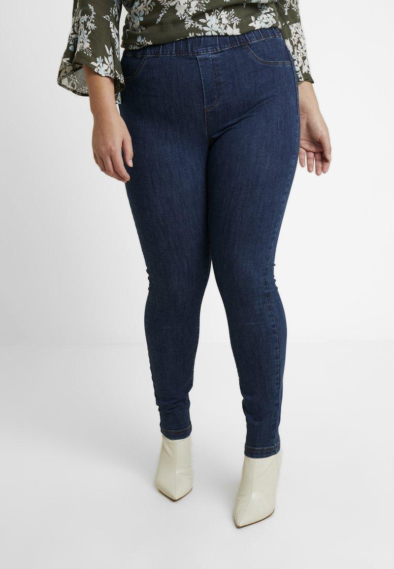 JUNAROSE - by VERO MODA - JRZERODARIA - Jeans Slim Fit - dark blue denim