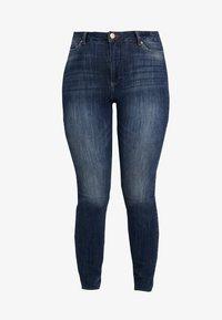 JUNAROSE - by VERO MODA - JRZEROAURAK - Jeans Skinny Fit - dark blue denim - 4