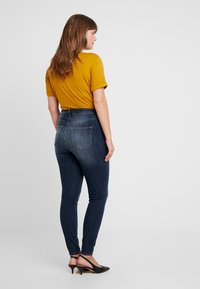 JUNAROSE - by VERO MODA - JRZEROAURAK - Jeans Skinny Fit - dark blue denim - 2