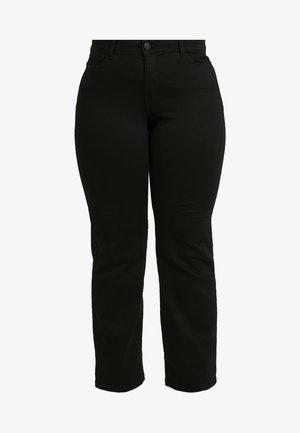JRTEN NOELLA - Straight leg jeans - black denim