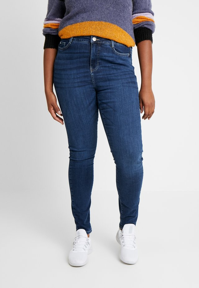 JRZEROAGNETE - Jeansy Skinny Fit - dark blue denim