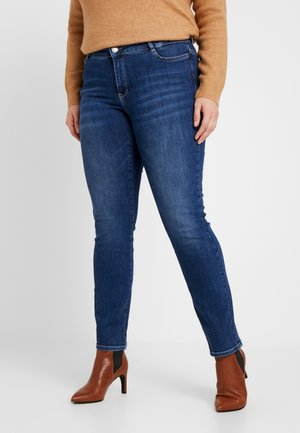 JRFIVEOLIKA - Jeansy Skinny Fit - medium blue denim