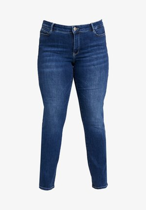 JRFIVEOLIKA - Jeans Skinny Fit - medium blue denim