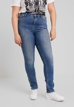 JRONENOVINA - Jeans Skinny - medium blue denim