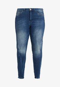 JUNAROSE - by VERO MODA - JRFOUROLESEA - Jeans Skinny Fit - medium blue denim - 3