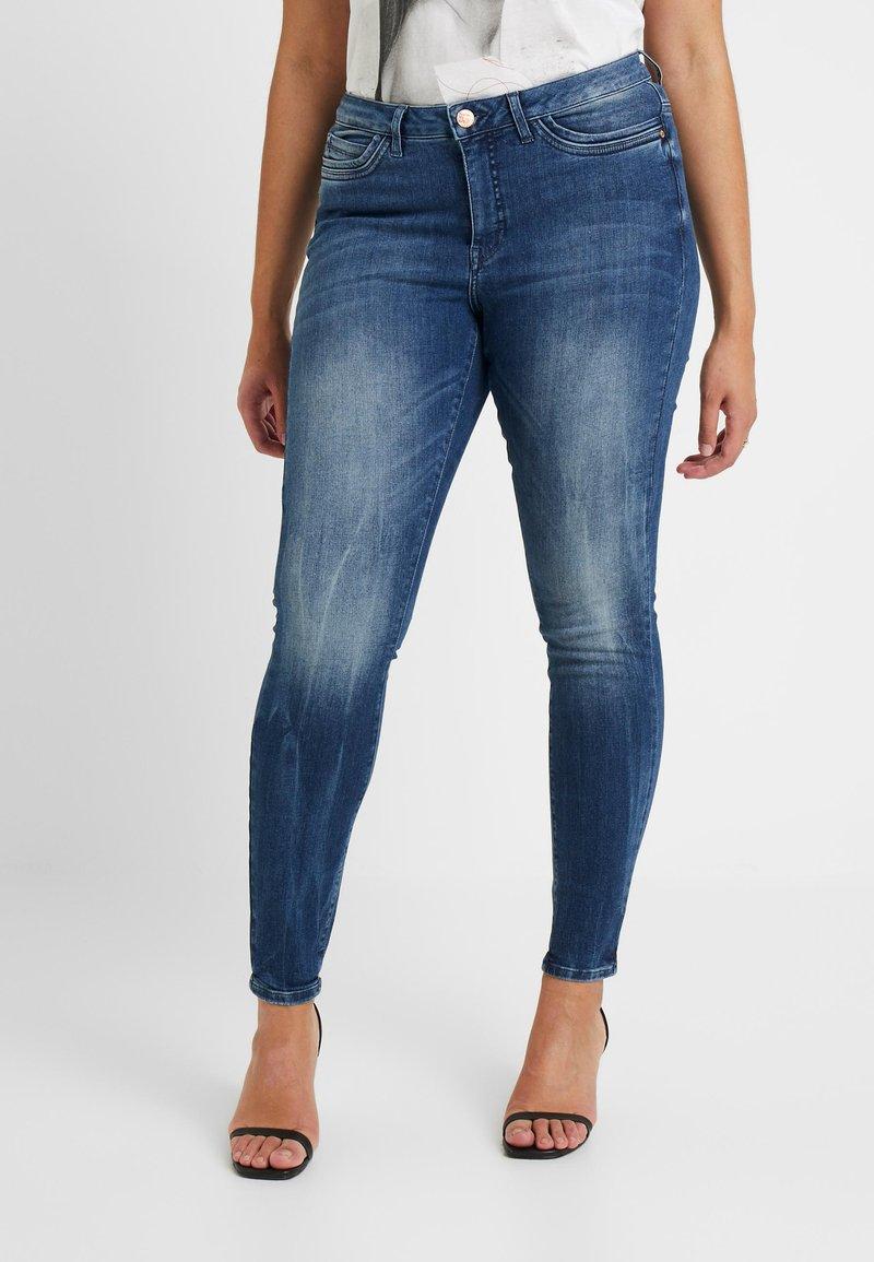 JUNAROSE - by VERO MODA - JRFOUROLESEA - Jeans Skinny Fit - medium blue denim