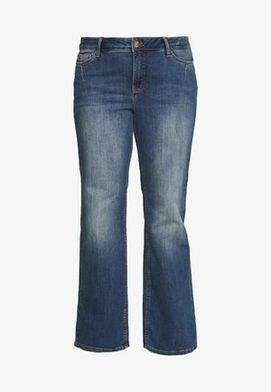 JULIVA - Straight leg jeans - medium blue denim