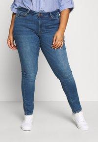 JUNAROSE - by VERO MODA - JRFIVE FIJI - Jeans Skinny Fit - medium blue denim - 0