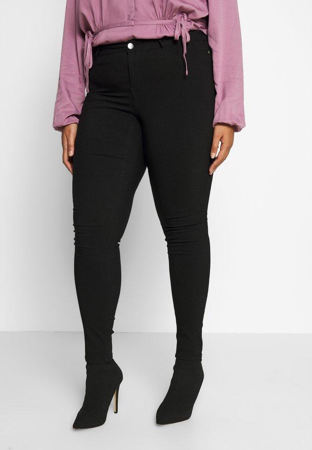 JRMASJA - Spodnie materiałowe - black