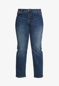 JUNAROSE - by VERO MODA - JRTEN ST FAISA MB - Jeans straight leg - medium blue denim - 4
