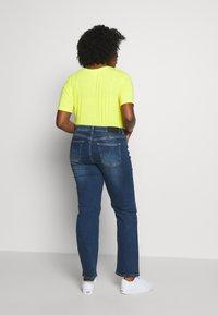 JUNAROSE - by VERO MODA - JRTEN ST FAISA MB - Jeans straight leg - medium blue denim - 2