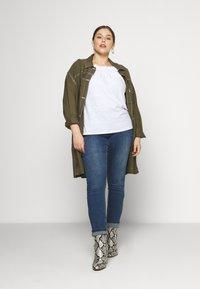 JUNAROSE - by VERO MODA - JRFIVEMUUTA - Jeans Skinny Fit - medium blue denim - 1