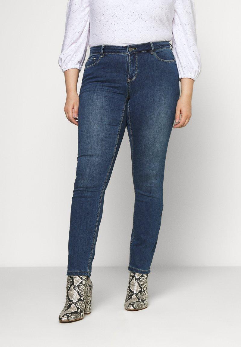 JUNAROSE - by VERO MODA - JRFIVEMUUTA - Jeans Skinny Fit - medium blue denim