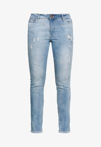 JUNAROSE - by VERO MODA - JRFIVE ADIA ANKLE  - Jeans Slim Fit - light blue denim - 3