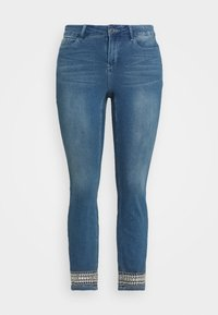 JUNAROSE - by VERO MODA - JRFIVE AVOLA ANKLE - Jeans Skinny Fit - medium blue denim - 3