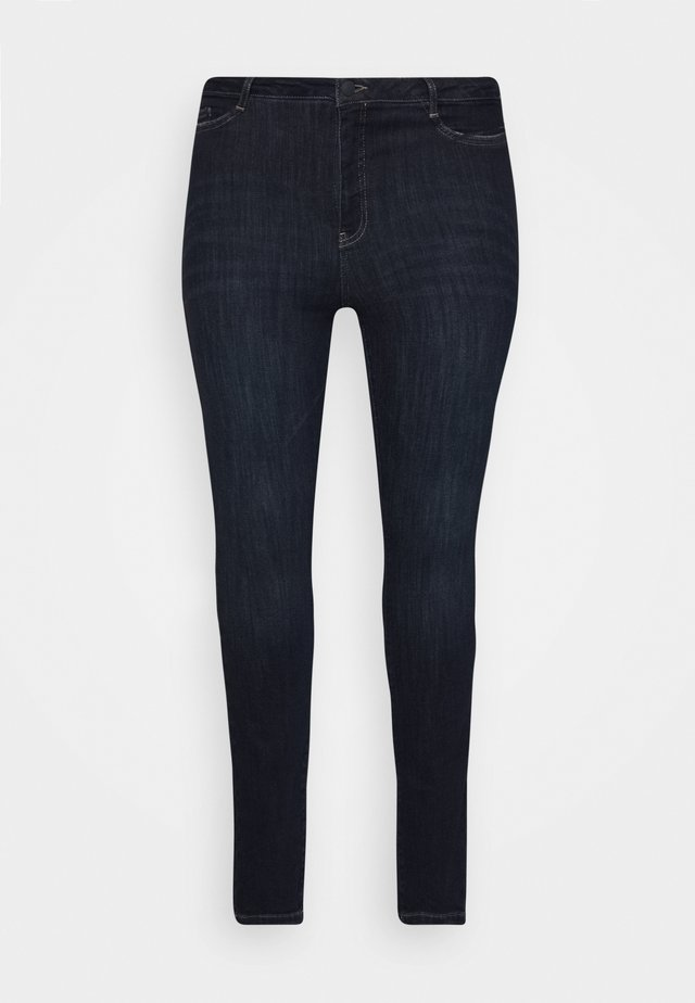JRONEADDIS - Slim fit jeans - dark blue denim