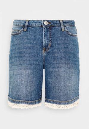 JRFIVE SL MASISA  - Denim shorts - blue denim