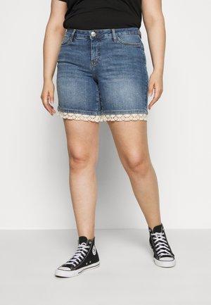 JRFIVE MASISA  - Denim shorts - blue denim