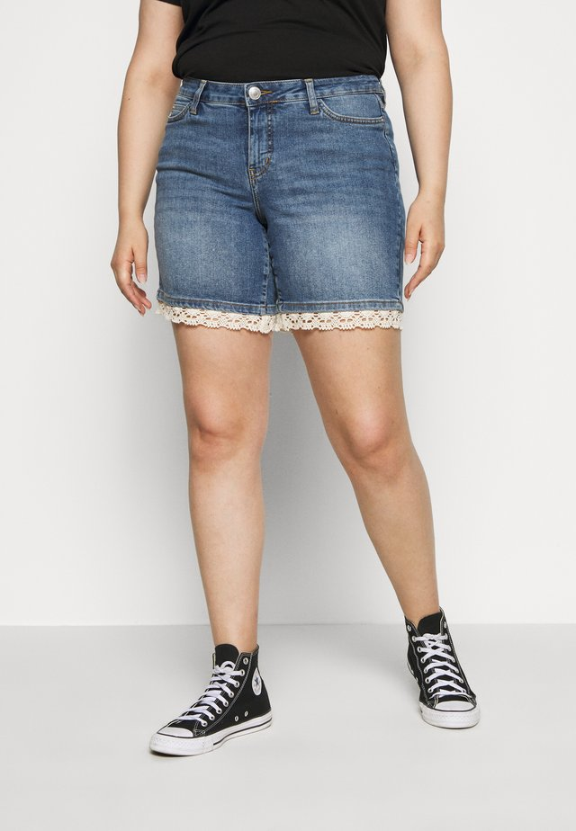 JRFIVE MASISA  - Jeans Shorts - blue denim