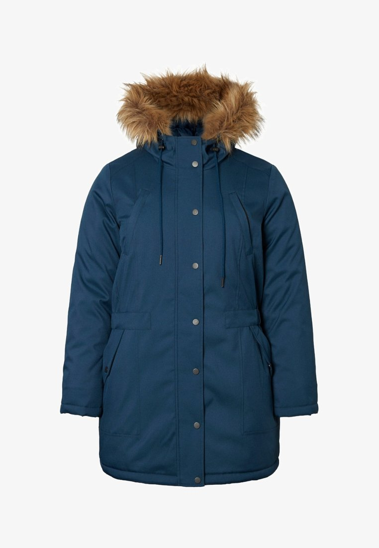 JUNAROSE - by VERO MODA - JRLUPPA EXPEDITION  - Winter coat - blau