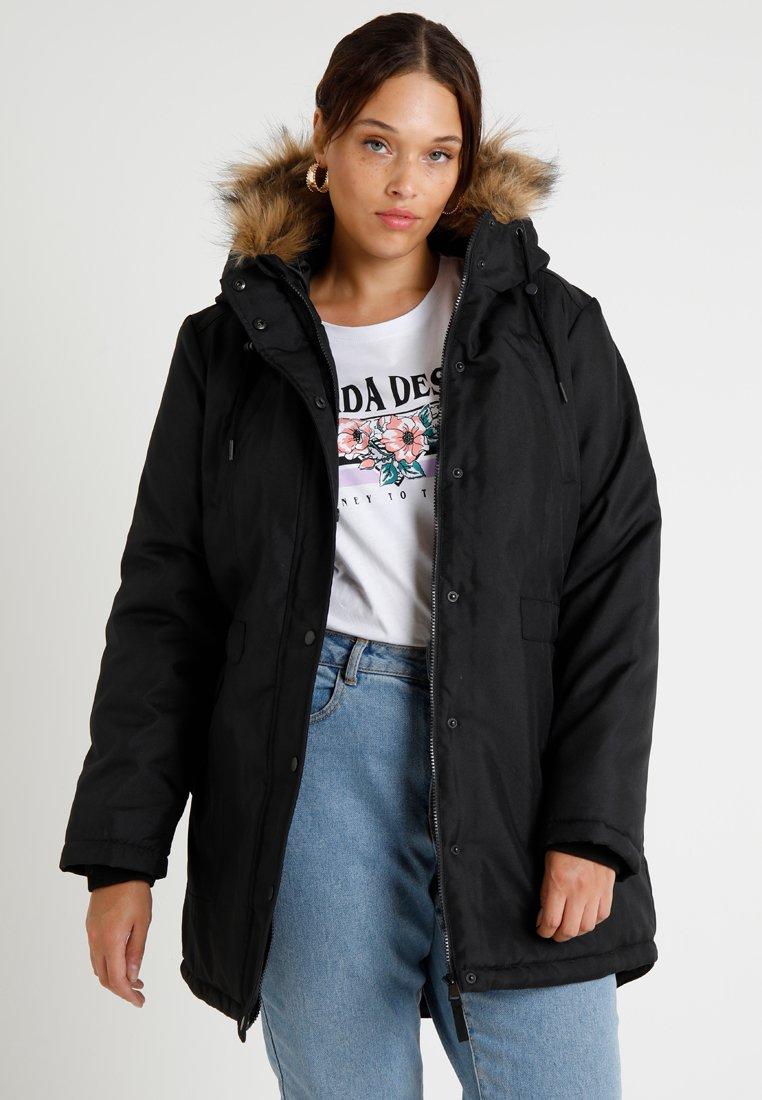 JUNAROSE - by VERO MODA - JRLUPPA EXPEDITION  - Winter coat - black