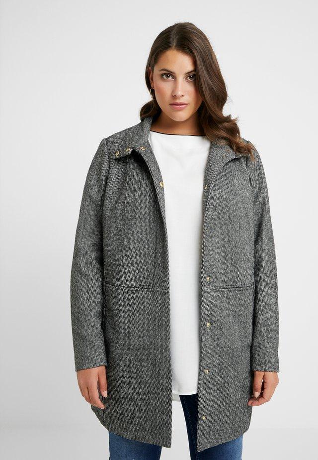 JRJAKO - Płaszcz wełniany /Płaszcz klasyczny - medium grey melange