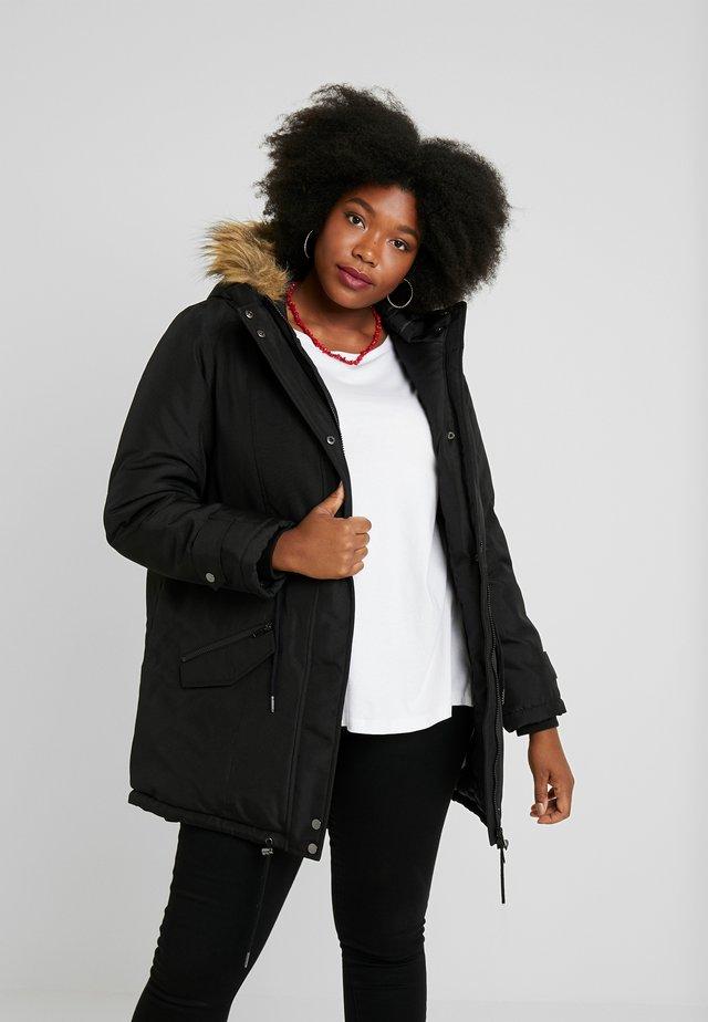 JRFAROEXPEDITION - Zimní kabát - black