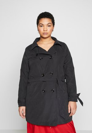 JRNEWTUKKA TRENCH COAT - Trenchcoat - black