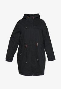 JUNAROSE - by VERO MODA - Classic coat - black washed - 4
