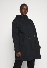 JUNAROSE - by VERO MODA - Classic coat - black washed - 0